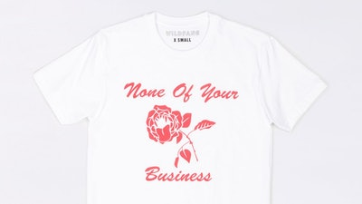 NONE OF YOUR BUSINESS TEE