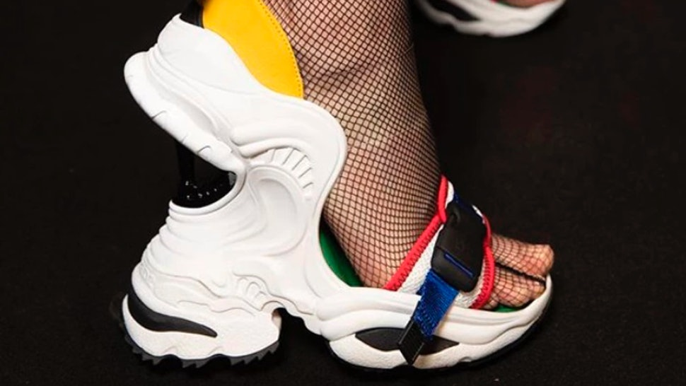 aaac00120324 Where To Buy DSquared2 Dad Sneaker Wedges For The Ultimate Ugly-Chic Look