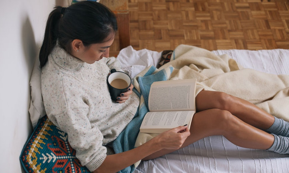 The Key To Finishing & Enjoying More Books Is Actually Remarkably Simple by Kerri Jarema for Bustle