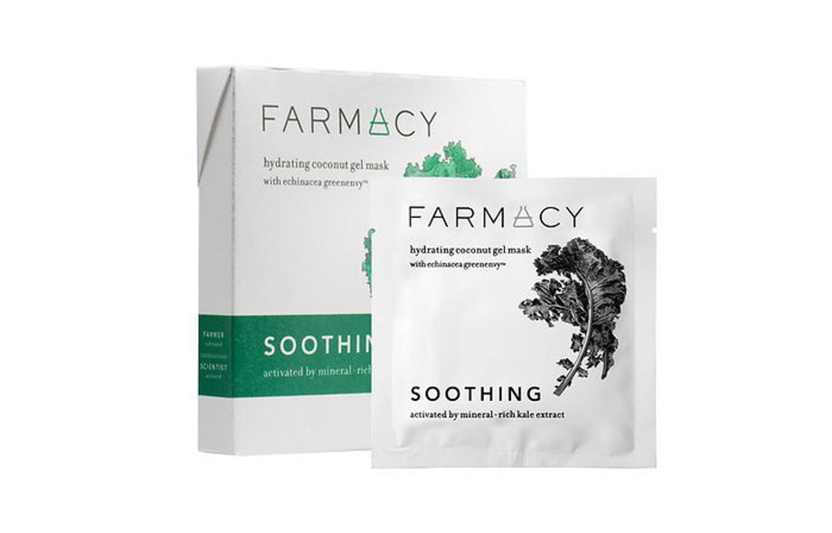 Farmacy Hydrating Coconut Gel Mask (3-Pack)