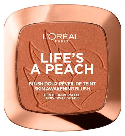 L'Oreal Paris Life's A Peach Blush Powder