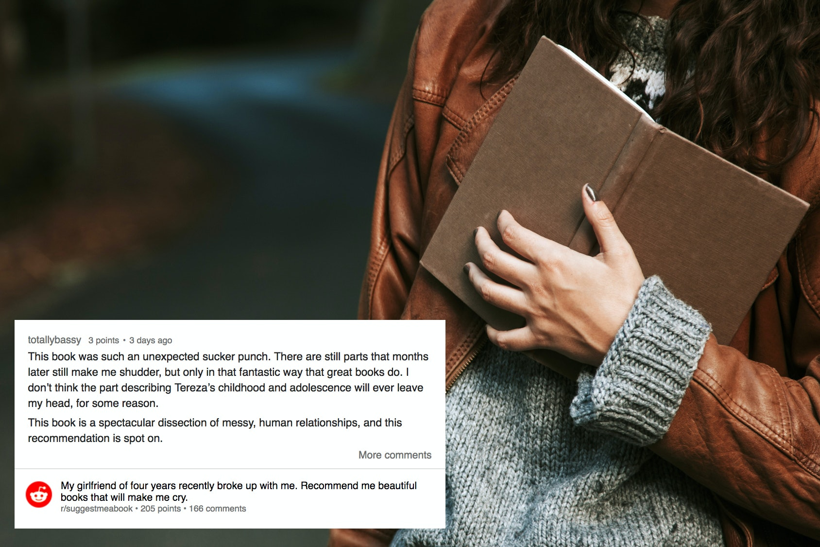 What To Read After A Breakup, According To Reddit Users