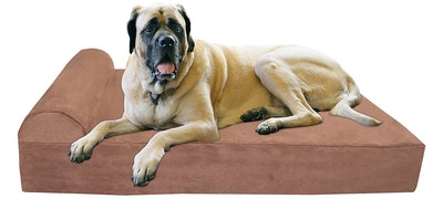 Big Barker Pillow Top Orthopedic Dog Bed (Headrest Edition)