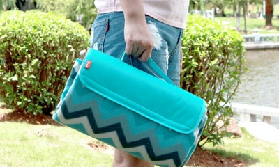 Yodo Outdoor Water-Resistant Picnic Blanket Tote