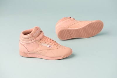 "Freestyle Hi x GLOW in ""Rose Gold/Nude"""