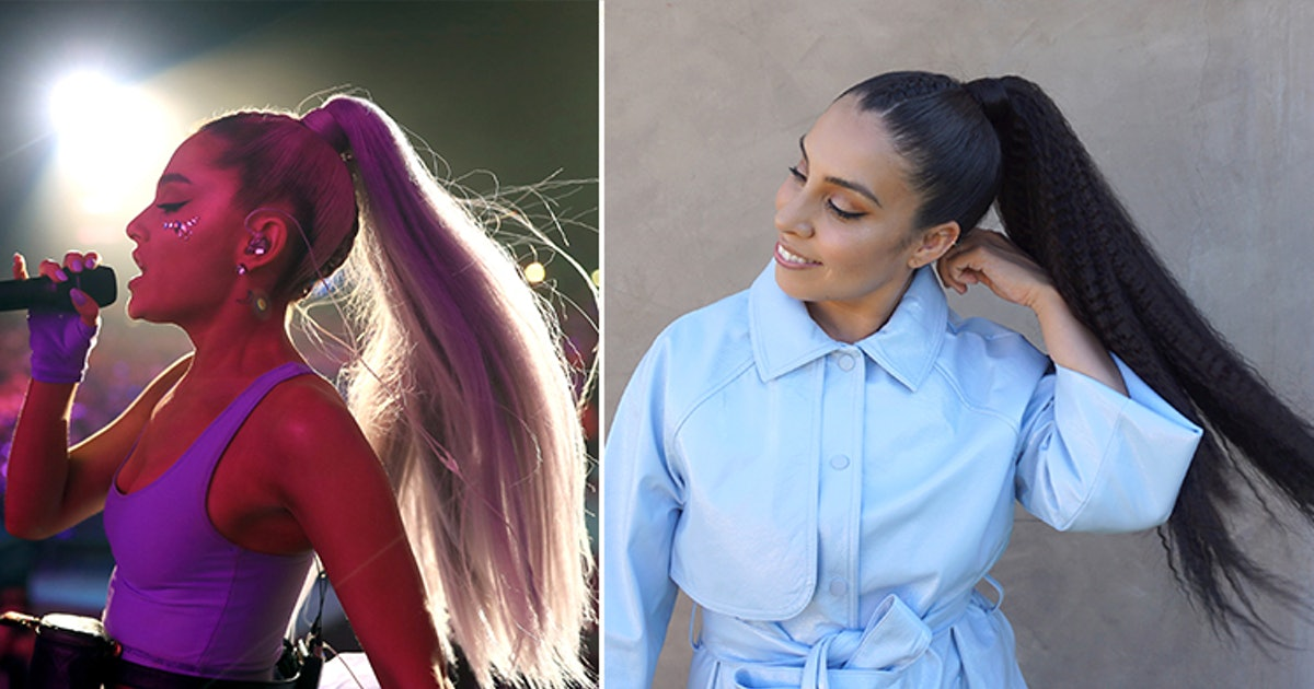 I Wore Ariana Grande S Ponytails For A Week Advil Became