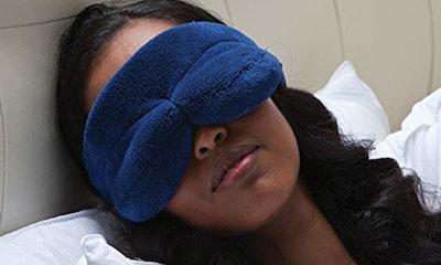 Brookstone NapForm Eye Mask with BioSense Memory Foam
