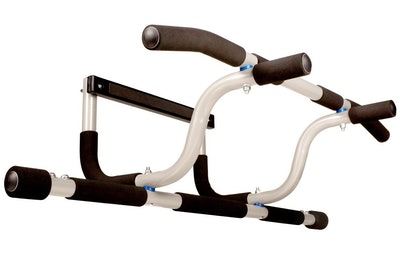Ultimate Body Press XL Doorway Pull Up Bar with Elevated Bar