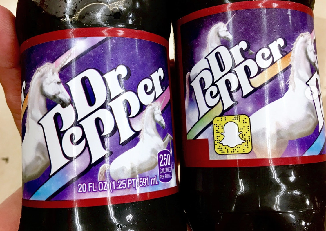 """unicorn dr. pepper exists, along with a ton of other cute """"pick your"""