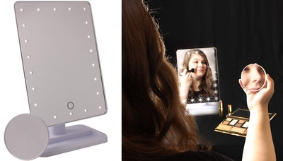 bogo Brands Large Lighted Cosmetic Makeup Mirror