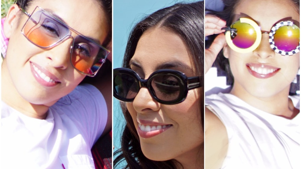 930049141d The Statement Sunglasses Trend Is The Best Way To Dress Up A White Tee    Jeans