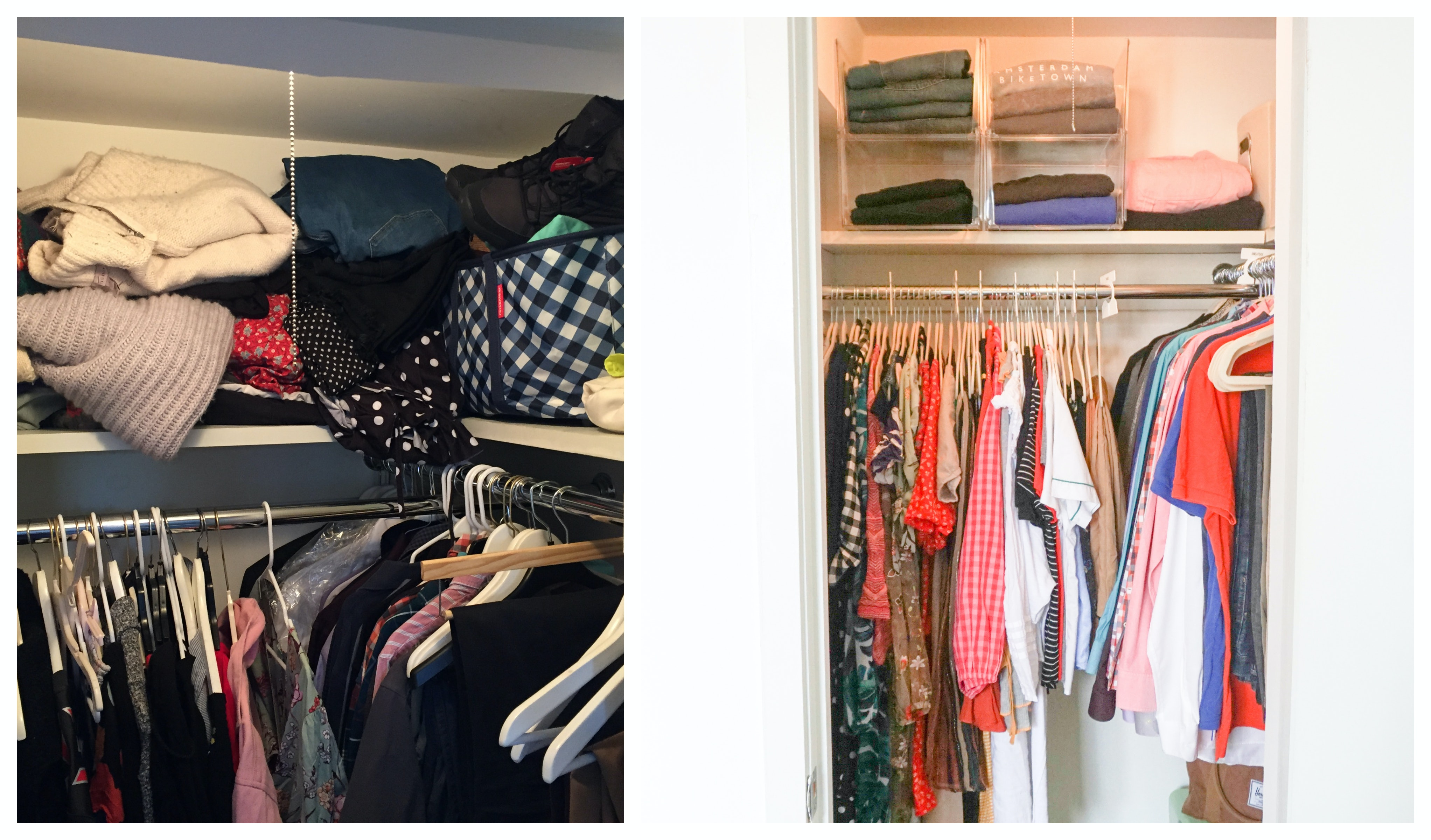 How To Organize A Small Closet According To A Professional Organizer,Bloody Mary