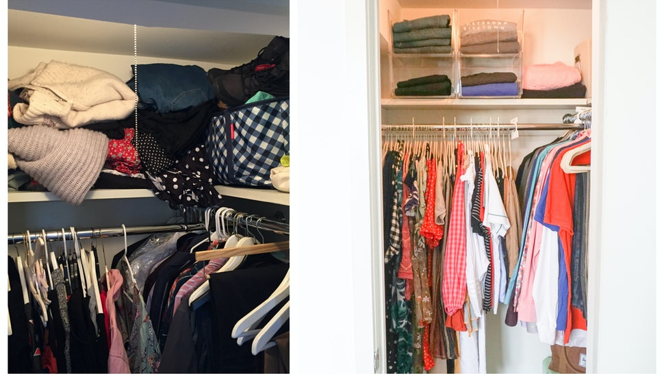 How To Organize A Small Closet According To A Professional Organizer