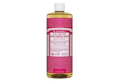 Dr. Bronner's Pure-Castille Liquid Soap In Hemp Rose