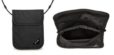 Pacsafe Coversafe X75 Anti-Theft Neck Pouch