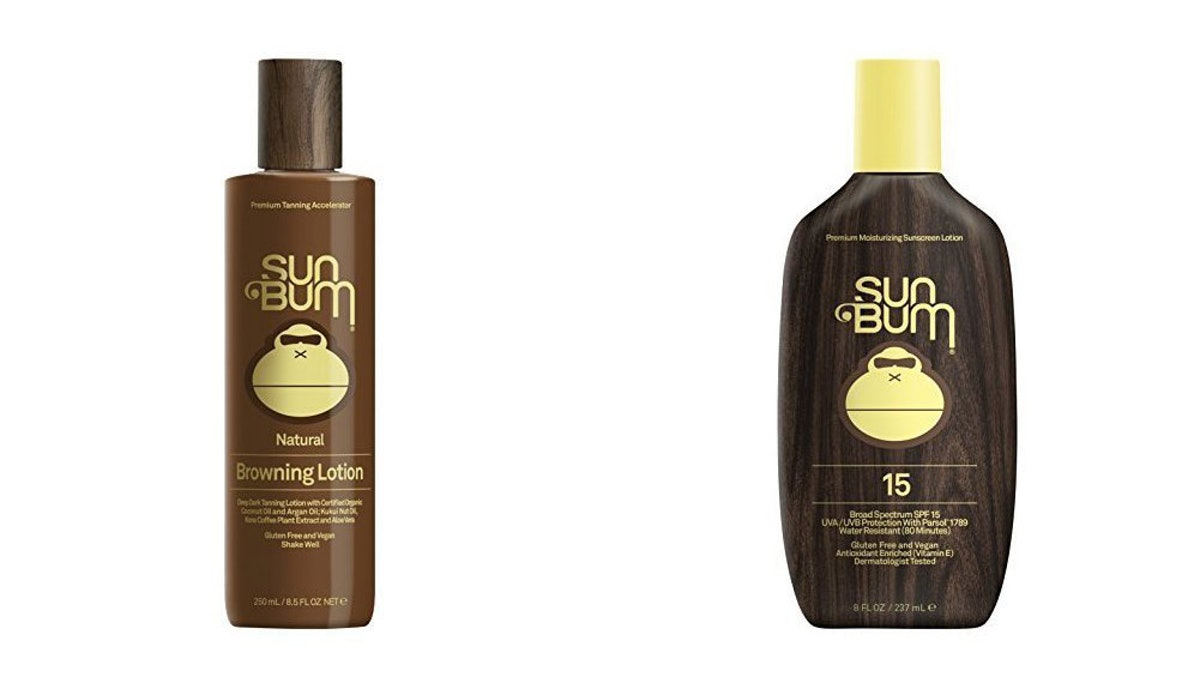 Sun Bum Original Sunscreen Lotion and Moisturizing Browning & Tanning Lotion
