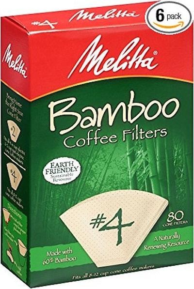 Melitta Bamboo Coffee Filters