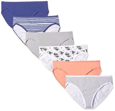 Amazon Essentials Cotton Stretch Hi-Cut Brief Panty