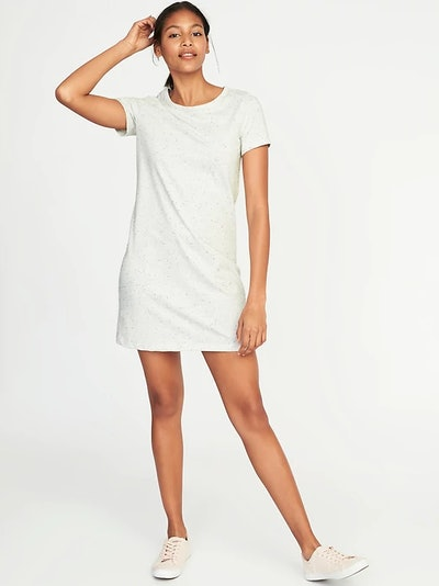 Semi-Fitted Tee Dress