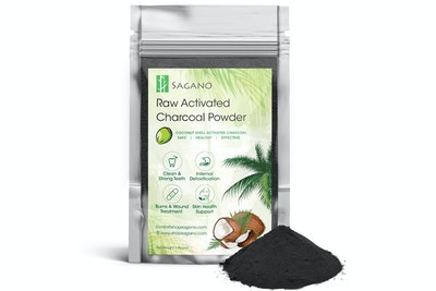 Sagano Activated Coconut Shell Charcoal Powder