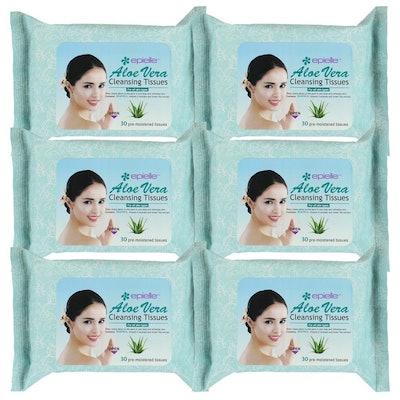 Epielle Aloe Vera Facial Cleansing Tissues