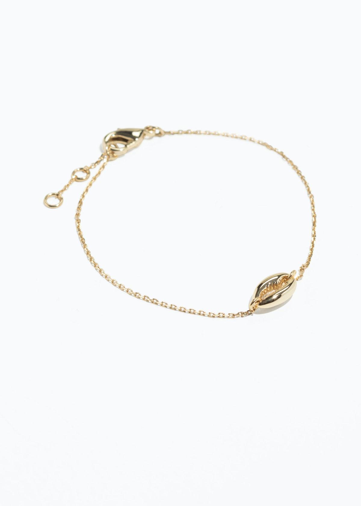 Puka Shell Chain Bracelet