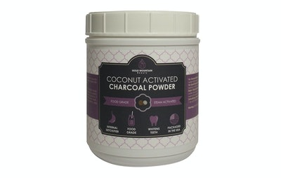 Gold Mountain Beauty Coconut Activated Charcoal Powder