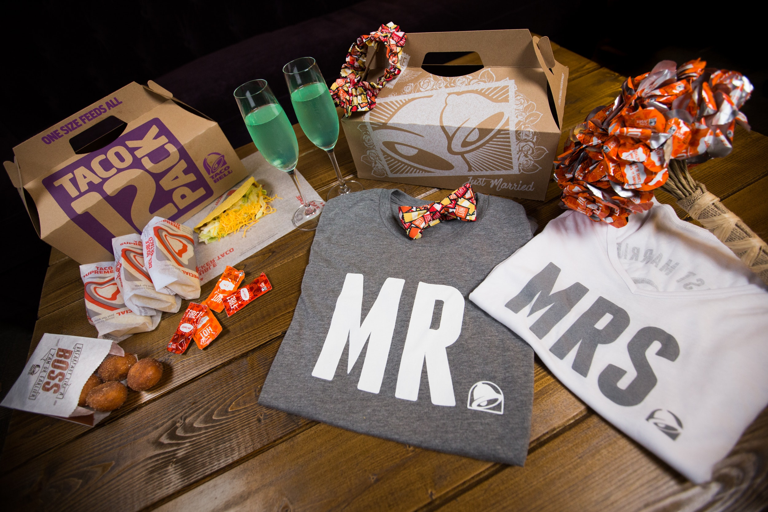 Taco Bell Launched Wedding Accessories & You're Going To Want Them