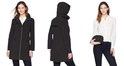 Lark & Ro Women's Packable Hooded Jacket
