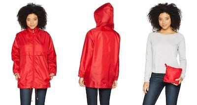 totes Women's Anorak Rain Jacket