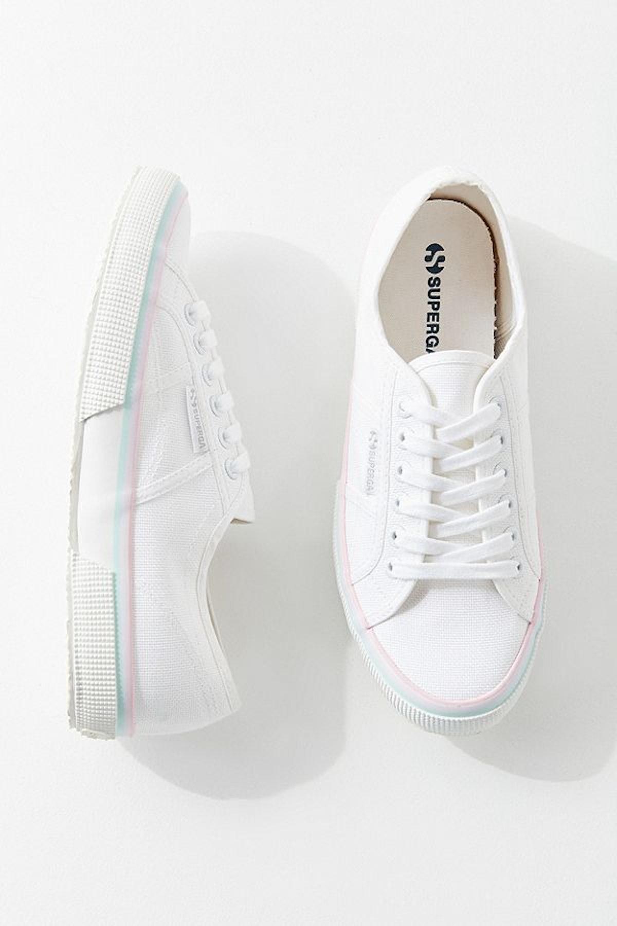 Superga Multi-Stripe Sneaker