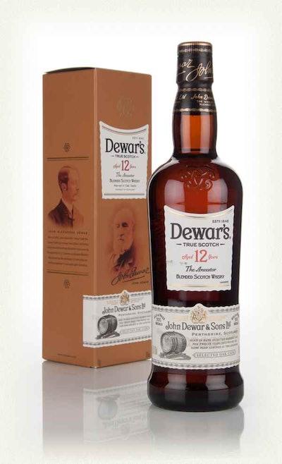 Dewar's 12 Year Old The Ancestor Whisky