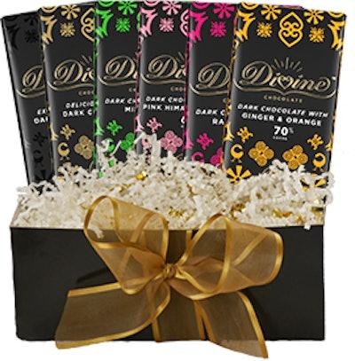 Divine Chocolate Dark Chocolate Lovers' Gift Set