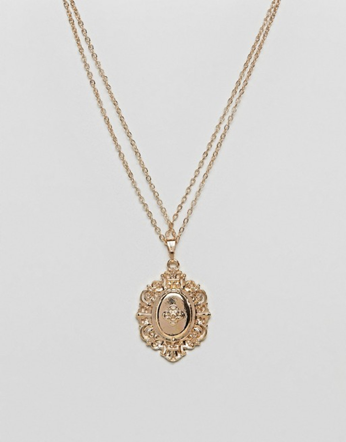 ASOS Vintage Style Lucky Locket Necklace