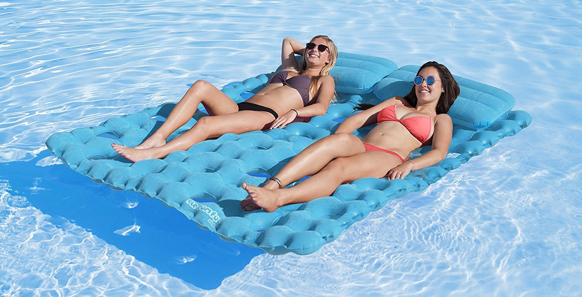 Airhead Suede Double Pool Mattress