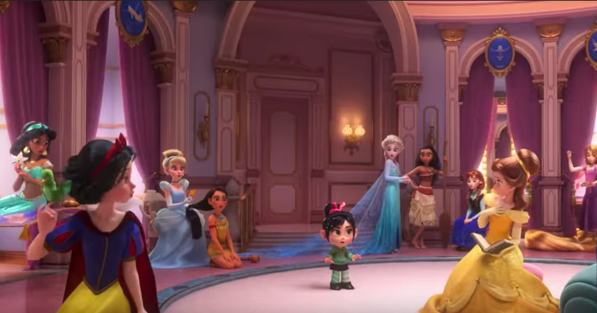 This New 'Wreck-It Ralph 2' Trailer With All The Disney ...