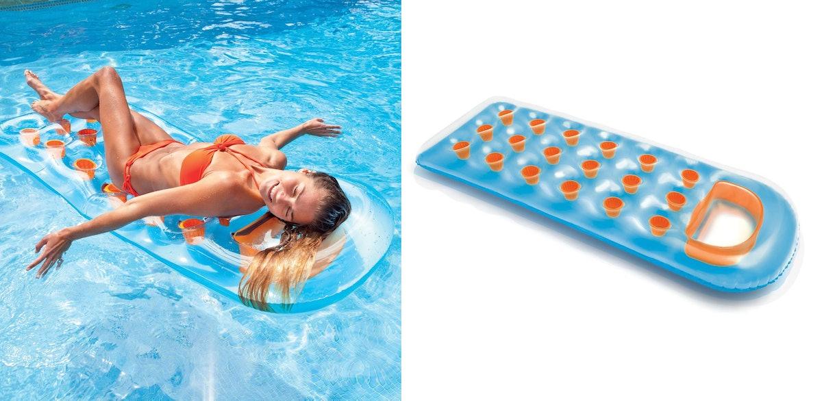 Intex 18-Pocket Suntanner Inflatable Lounge