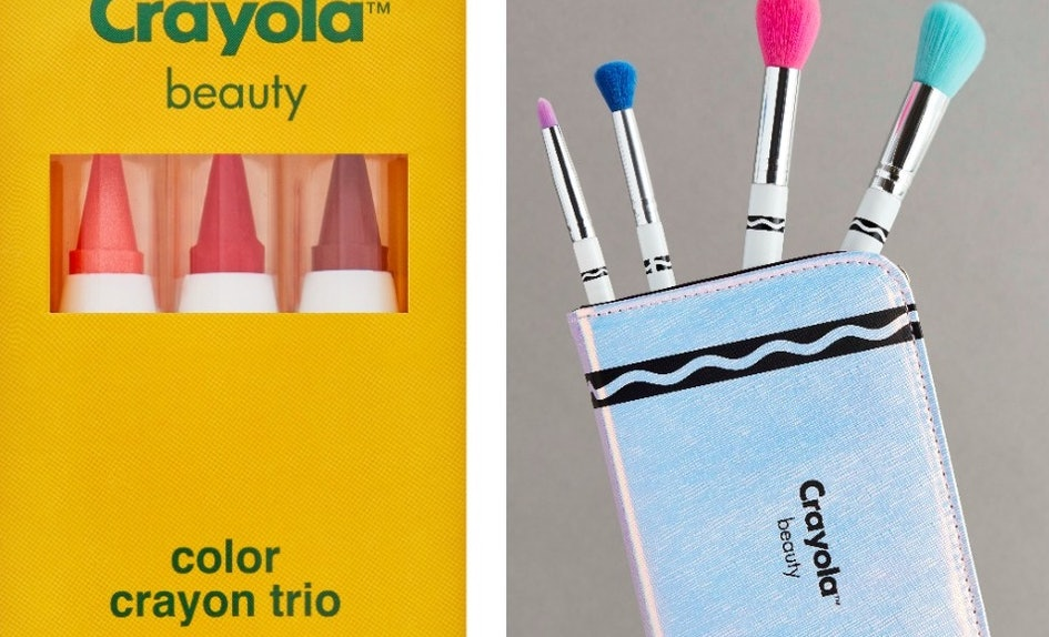 a crayola makeup line is coming to asos it ll make you the