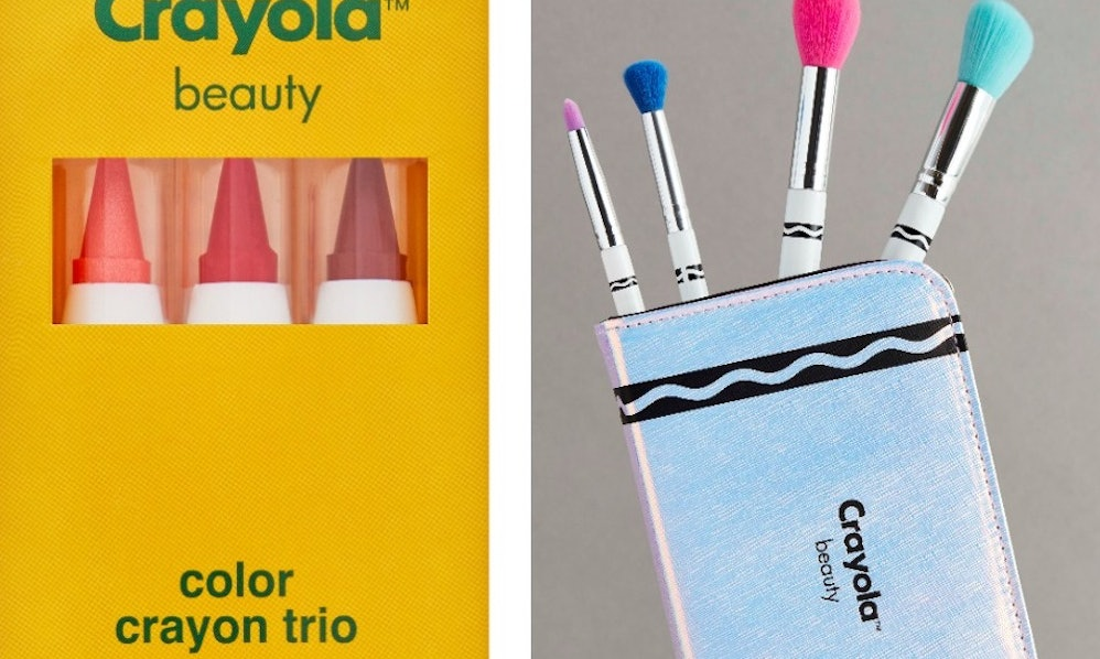 A Crayola Makeup Line Is Coming To Asos Amp It Ll Make You