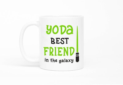Yoda Best Friend Mug