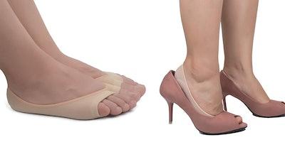 Flammi Women's Summer Peep Toe Socks