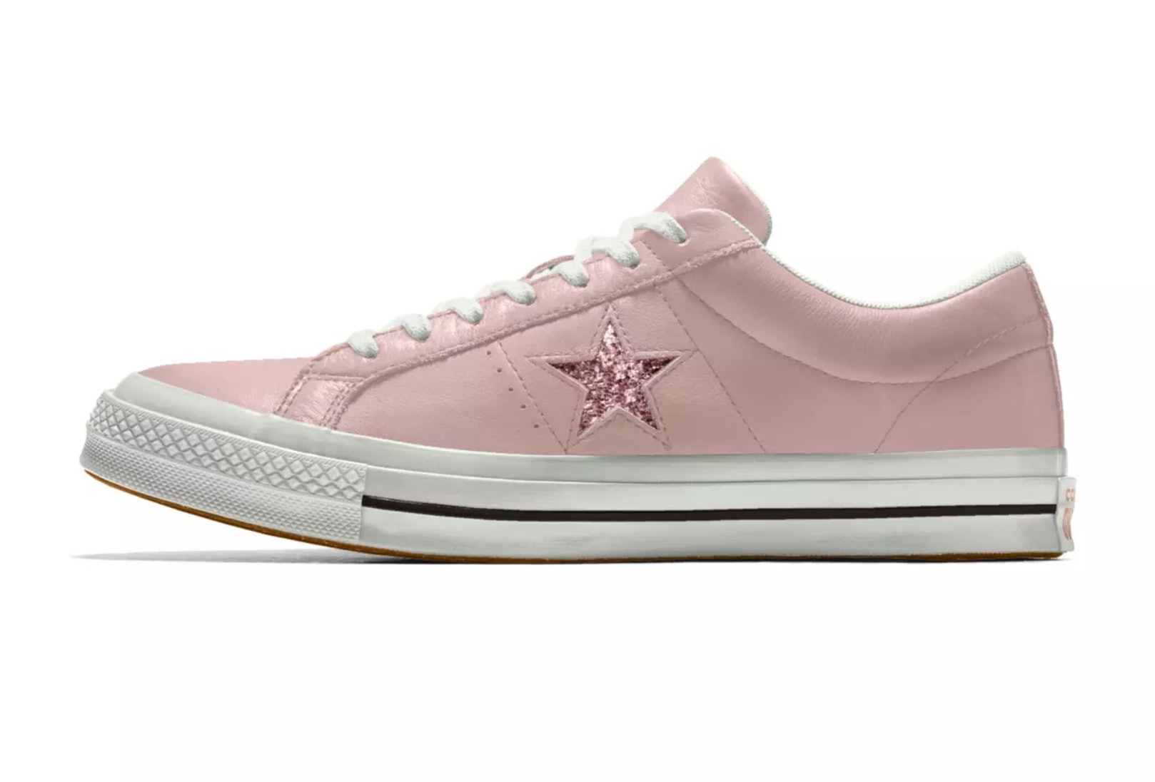 328d7b3f120890 Converse s One Star Glitter Sneakers Are Like Galaxies For Your Feet