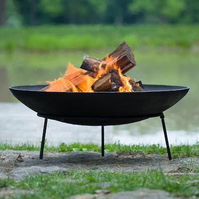 Cast Iron Dish Fire Pit