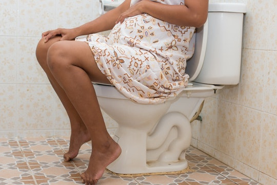 There are a few reasons why it hurts to poop when you're pregnant.
