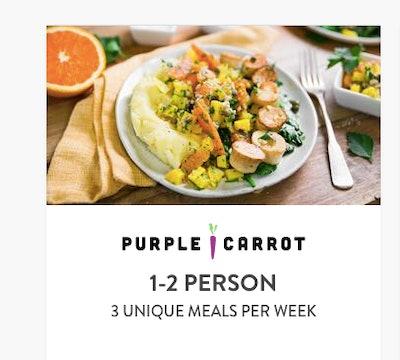 Three Unique Meals A Day