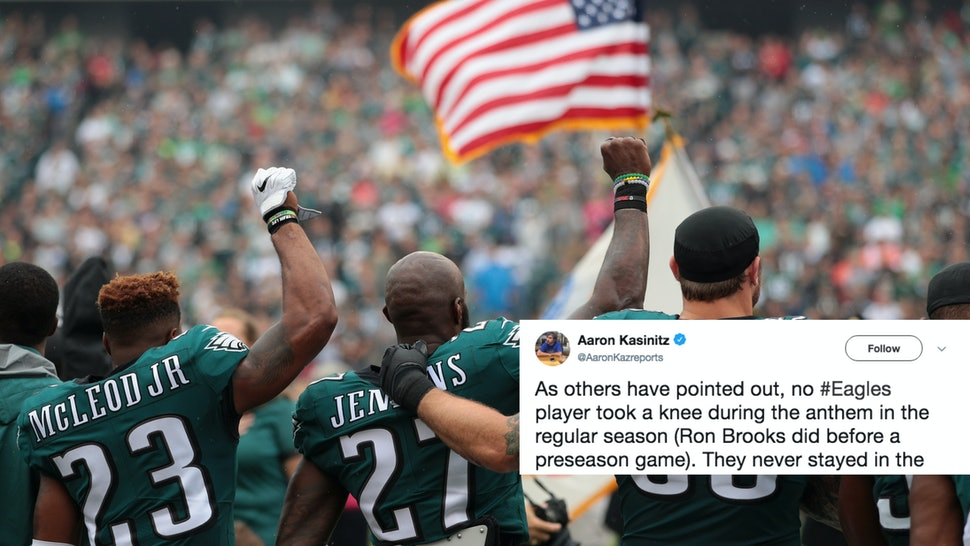 Twitter Reactions To The Eagles' White House Invite Reversal Say