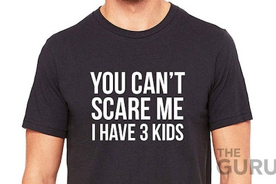 You Can't Scare Me Tee