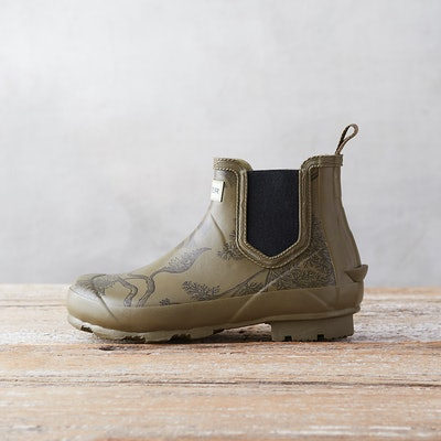 Hunter 'Norris' Printed Chelsea Boot