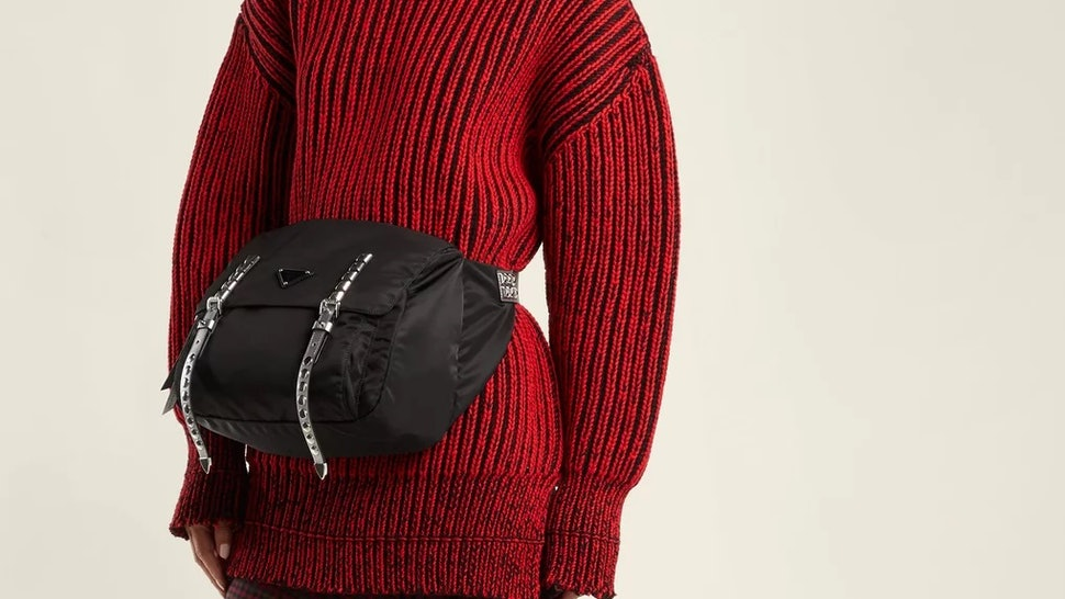 c29459137ec26 Prada Created A Giant $1,500 Fanny Pack For The Ultimate '90s Throwback