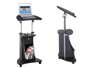 Tech Mobili Deluxe Rolling Laptop Cart